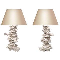 Rock Sculpture Lamps By Phoenix