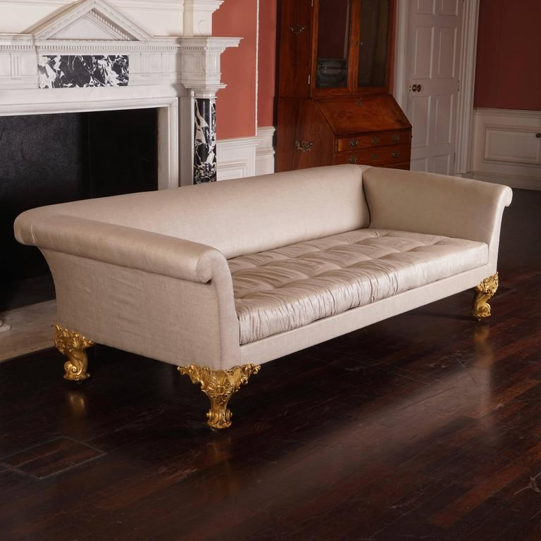 Large george iv sofa circa 1825 for sale at 1stdibs for Furniture 1825