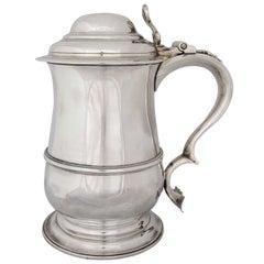 George III Sterling Silver Tankard