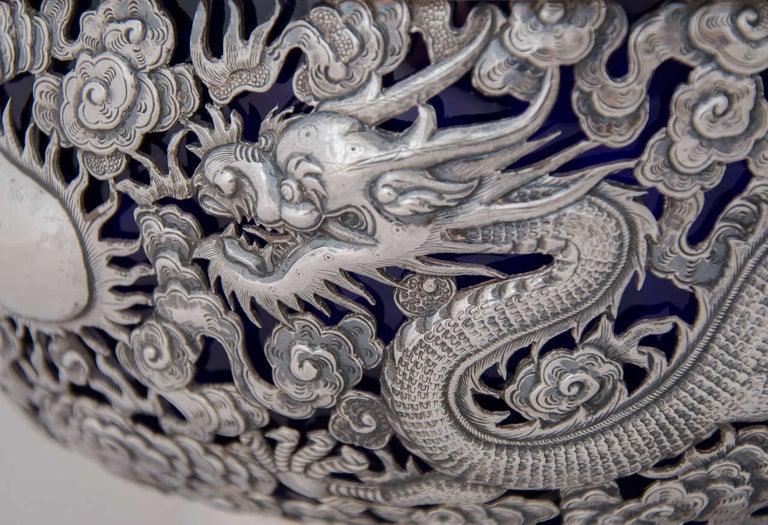 Chinese Export Silver Bowl 3