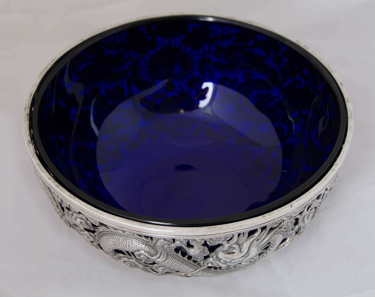 Chinese Export Silver Bowl 9