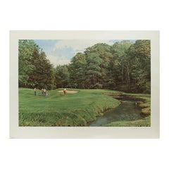 Merion Golf Club, Golf Print