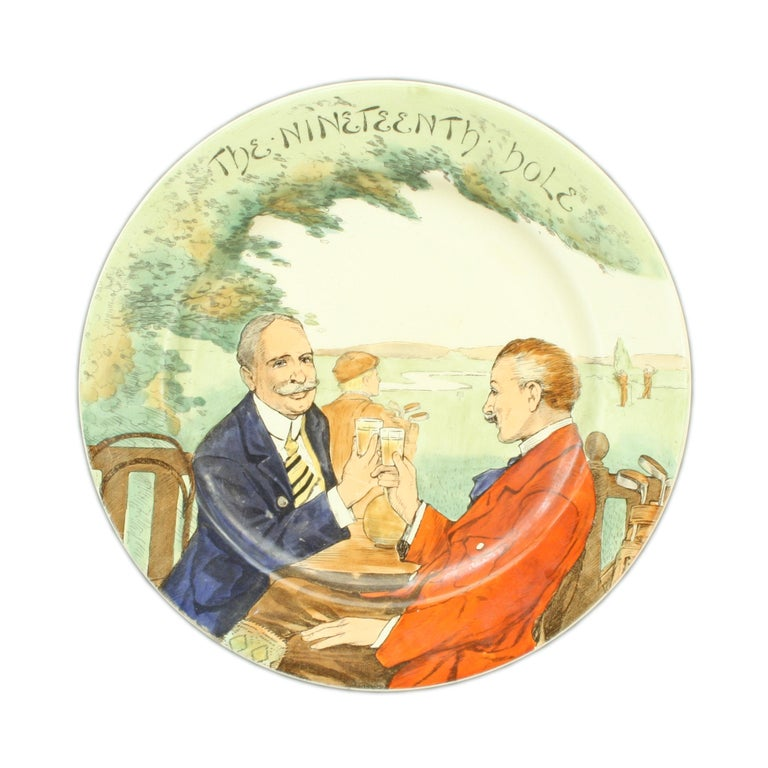 Royal Doulton 19th Century Hole Plate