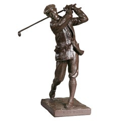 Golf Sculpture, Harry Vardon