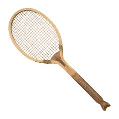 Fish Tail Lawn Tennis Racket
