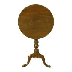 Tilt-Top Tripod Table