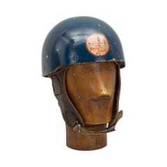 Vintage BSA Gold Flash Helmet, The Noll by Cromwell