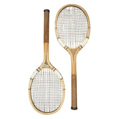 Vintage F.H. Ayres Lawn Tennis Rackets