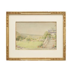 Antique Tennis Watercolor