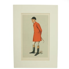 Vanity Fair Hunting Print 'The Master of the Blankney'