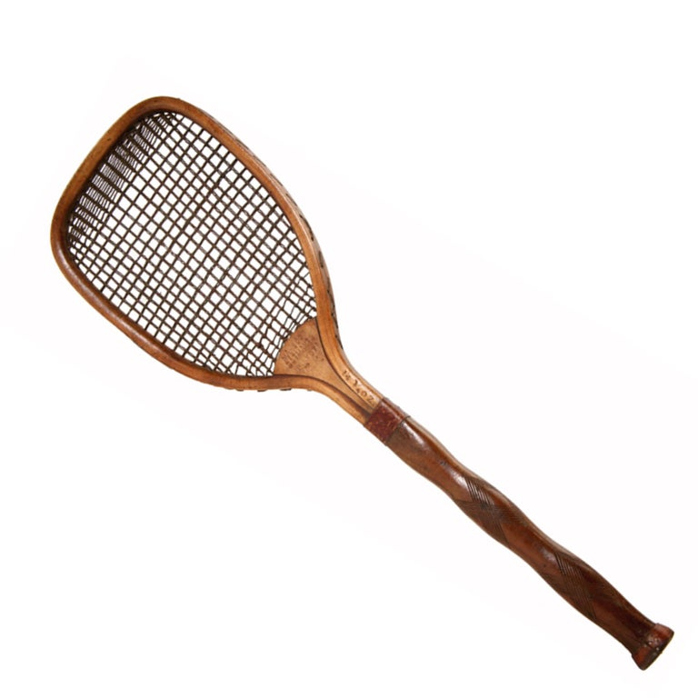 Indian Lawn Tennis Racket For Sale