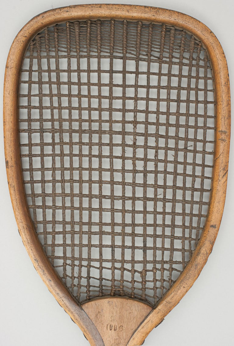 Indian Lawn Tennis Racket In Good Condition For Sale In Oxfordshire, GB
