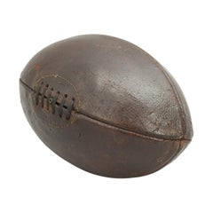 Antique Leather, Rugby Ball, Football Hand Stiched