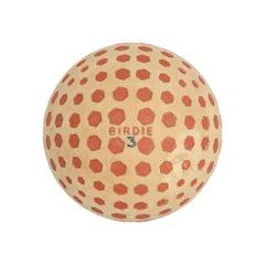 Vintage Golf Ball, Birdie Hexagon by St. Mungo, USA & Scotland, Rubber Core