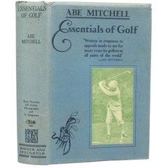 Golf Book by Abe Mitchell
