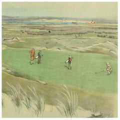 Golf Print, Westward Ho