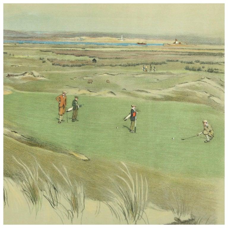 Golf Print, Westward Ho