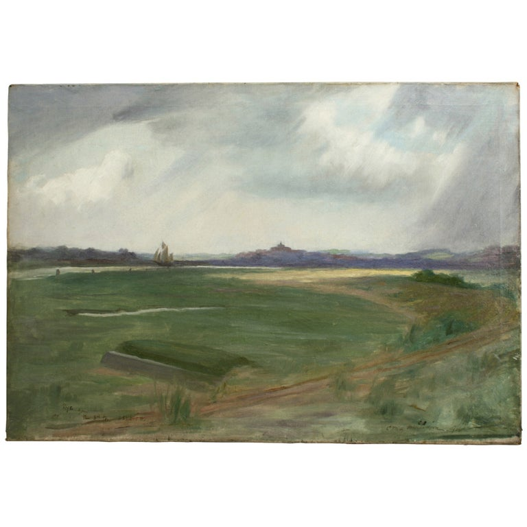 Golf Painting, Rye Golf Club For Sale