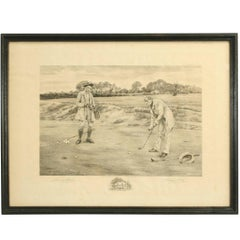 Vintage Golf Print 'The Stymie'