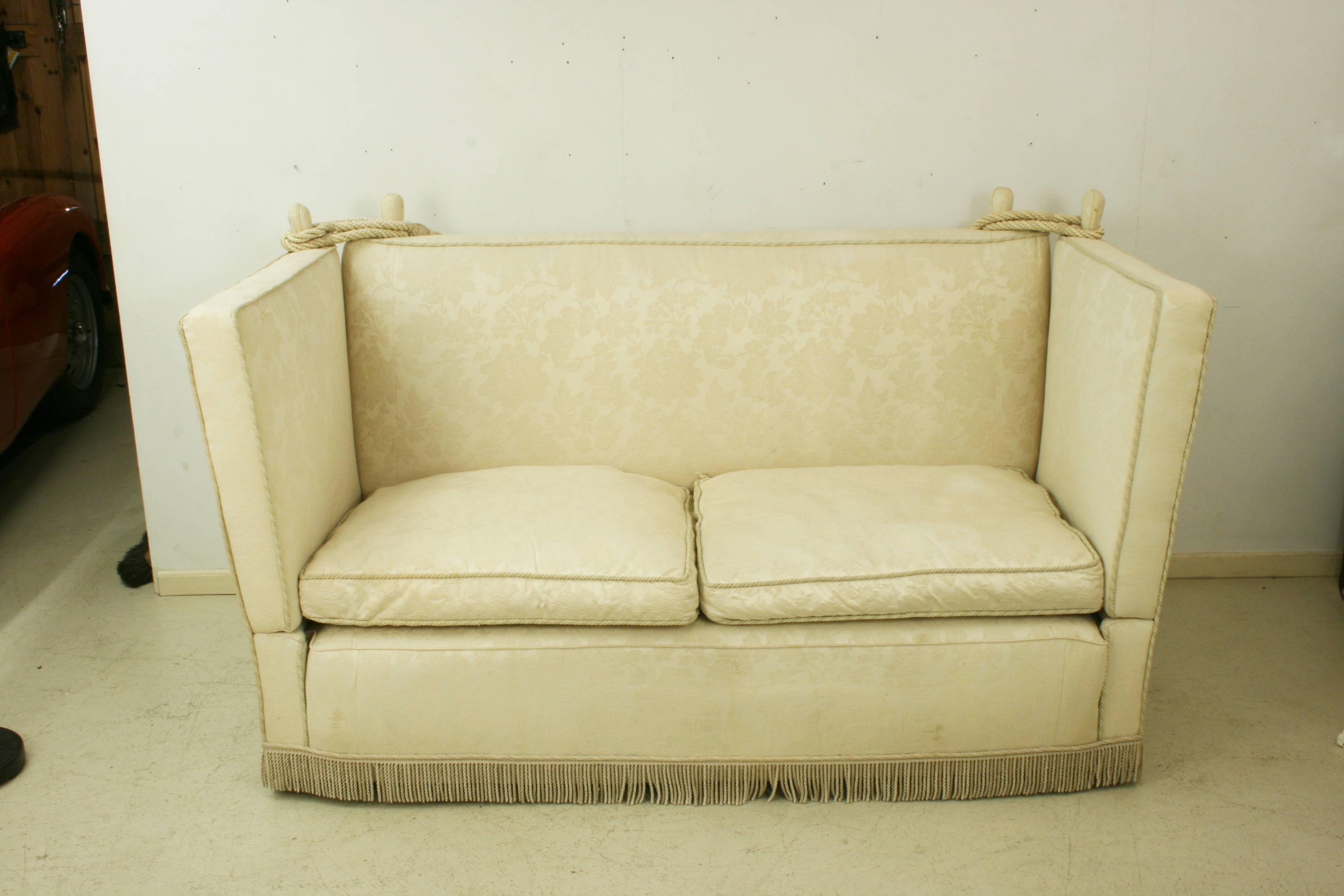 Fabric Antique Knole Sofa For Sale