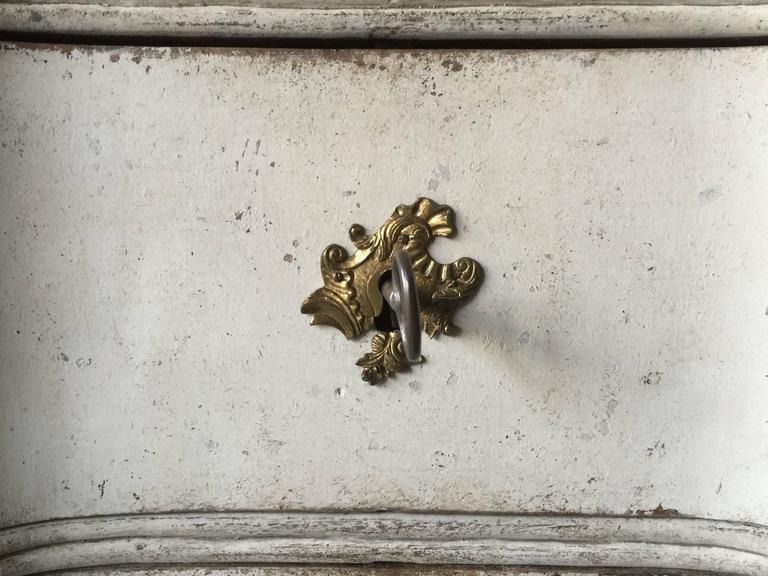 18th Century Danish Rococo Period Chest For Sale 1