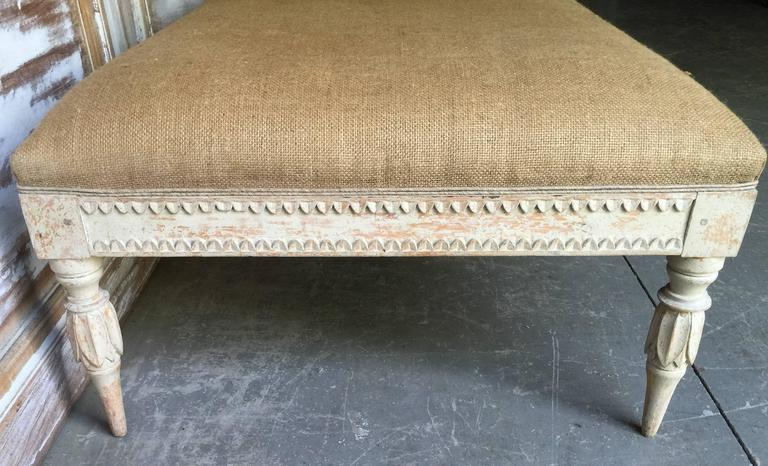 Early 19th Century Swedish Period Gustavian Daybed For Sale