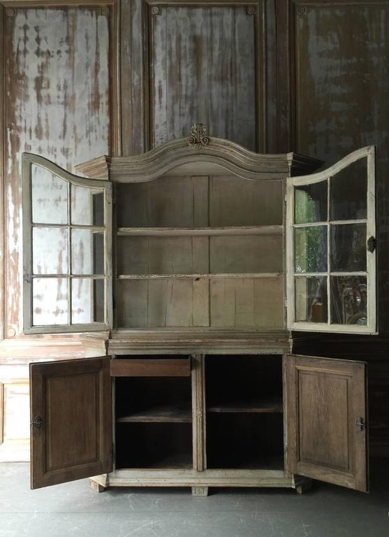 German 19th Century Vitrine Cabinet For Sale