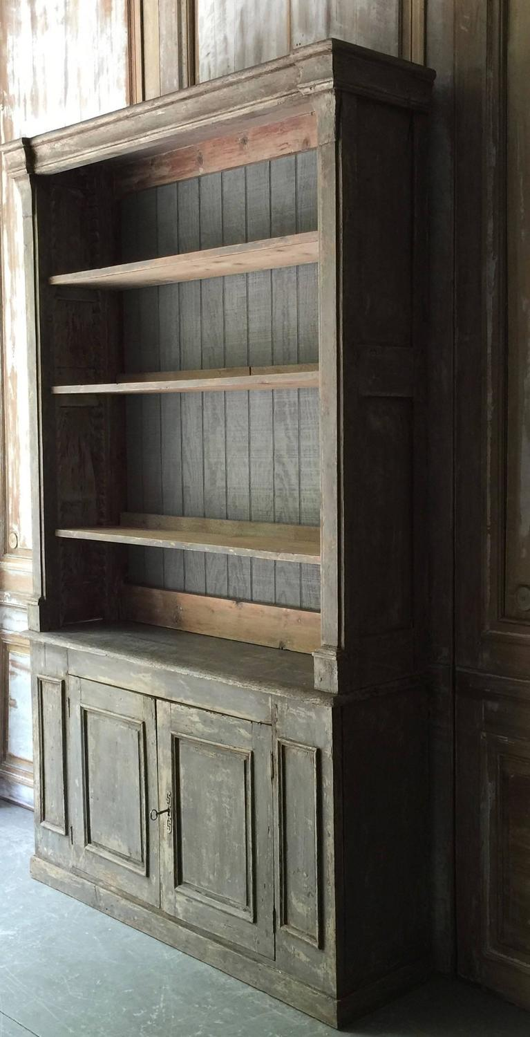 Painted french biblioth que in original paint at 1stdibs - Bibliotheque 9 cases ...