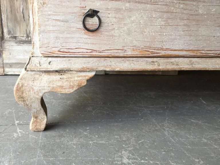 18th Century Period Swedish Rococo Secretaire Cabinet 10