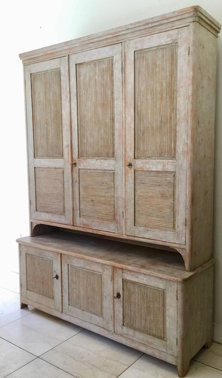 Exceptional Swedish Period Gustavian Cabinet 2