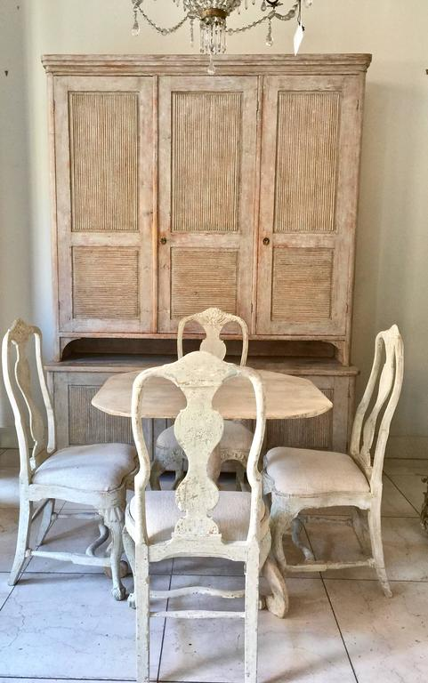 Exceptional Swedish Period Gustavian Cabinet 10