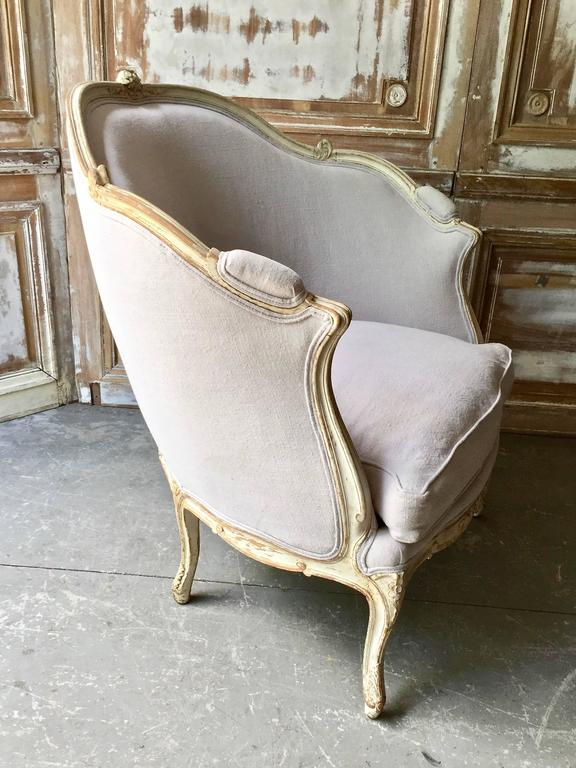 19th Century Louis XV Style Painted French Marquise 3