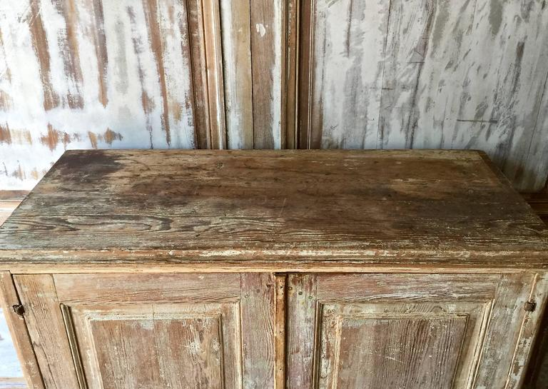 Hand-Carved Swedish Gustavian Period Sideboard For Sale