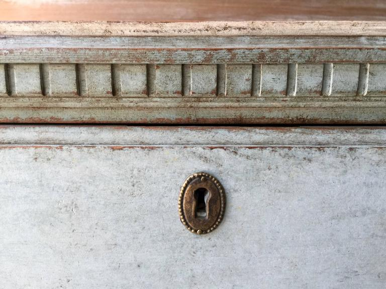 Pair of Swedish 19th Century Gustavian Chests For Sale 2