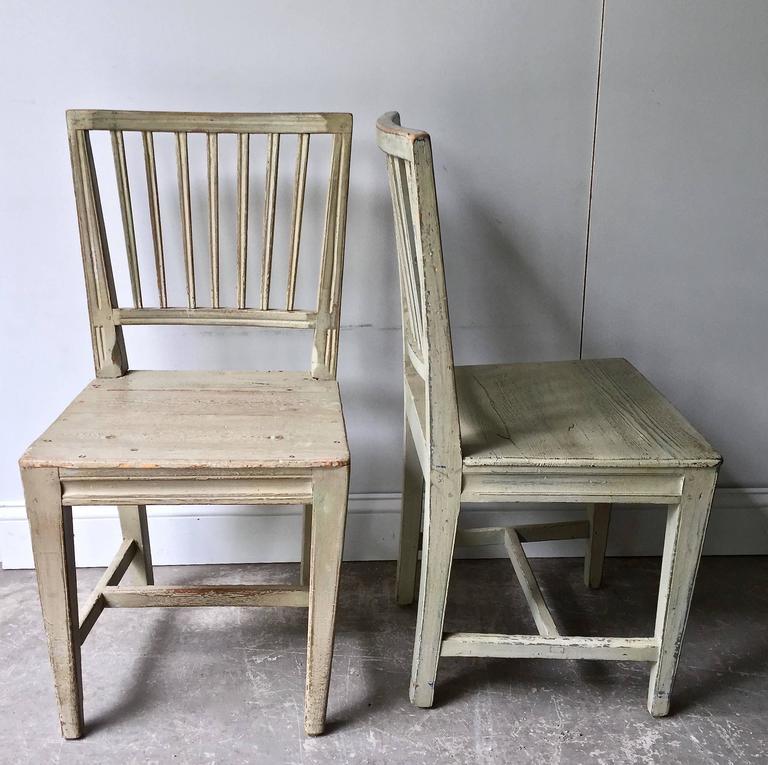 Set of Six Swedish 19th Century Side Chairs 5