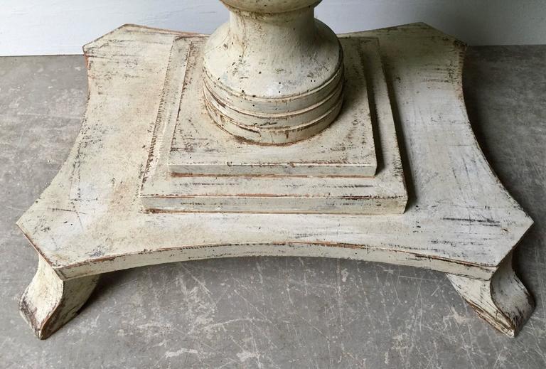 Pair of Swedish Period Karl Johan Pedestals For Sale 2
