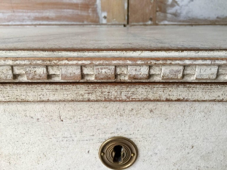 Bronze 19th Century Gustavian Period  Chest of Drawers For Sale