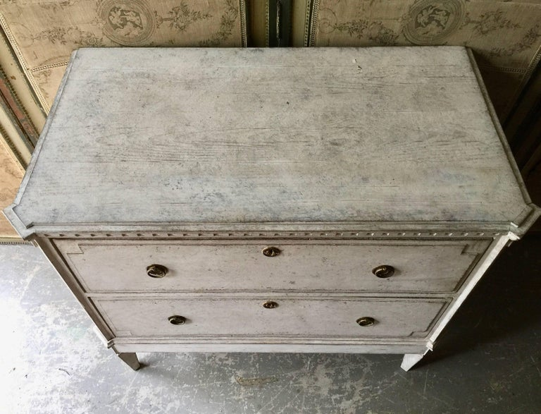 Swedish 19th Century Gustavian Period Chest of Drawers For Sale