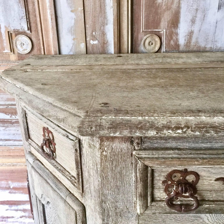 Hand-Carved French 18th Century Enfilade For Sale