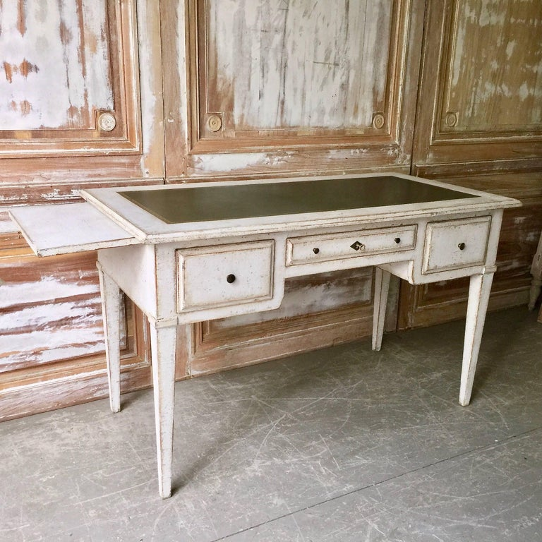 Louis XVI 19th Century Painted Bureau Plat For Sale