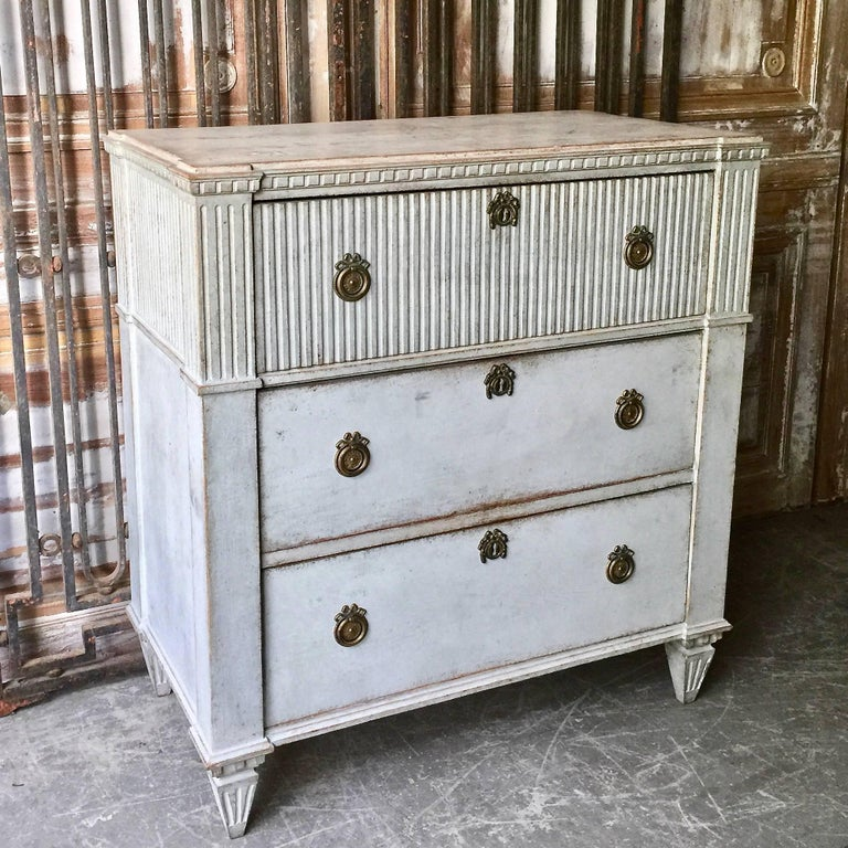 Late Gustavian Period Chest of Drawers 2