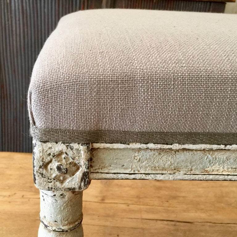 French, Louis XVI Style Bench 3