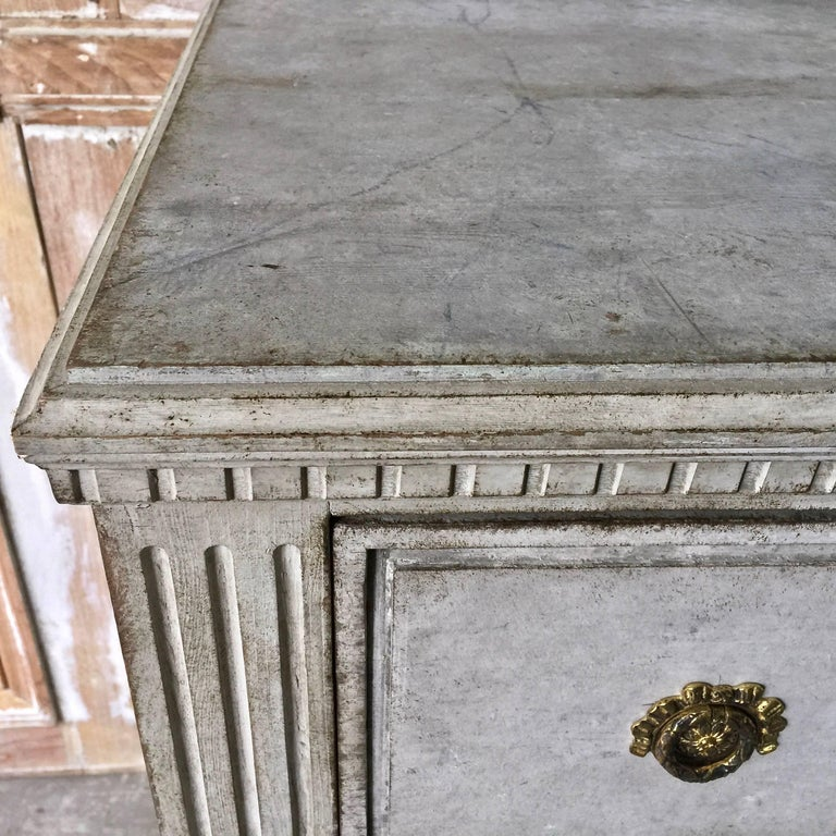 Hand-Crafted Late Gustavian Period Chest of Drawers For Sale