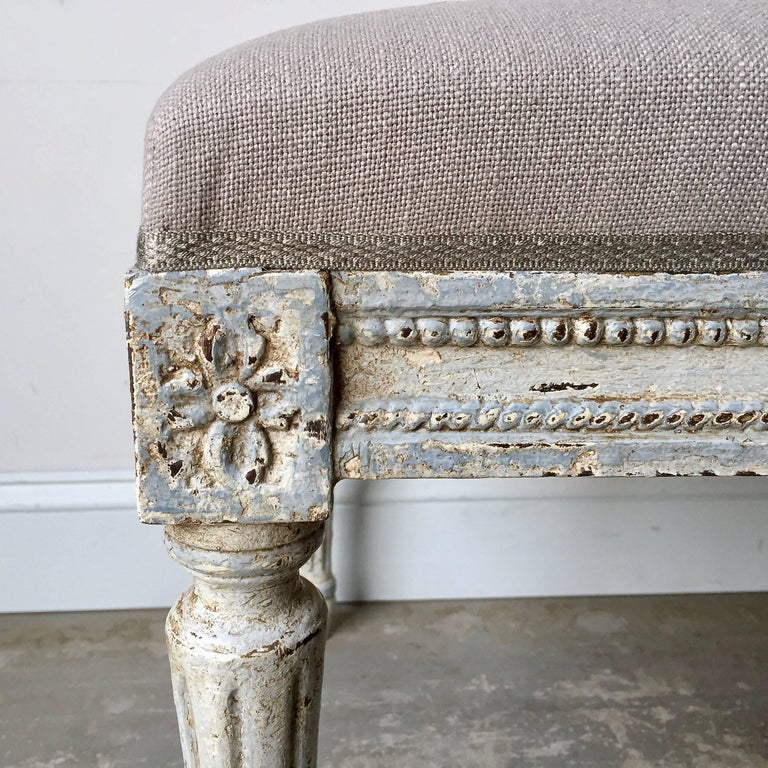 Early 20th Century  French LXVI Style Bench For Sale