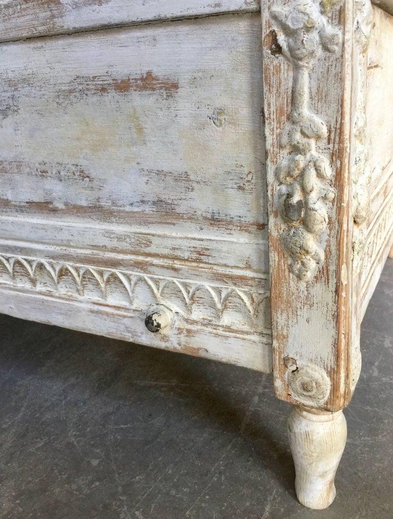 19th Ccentury Gustavian Sofa Bed 10