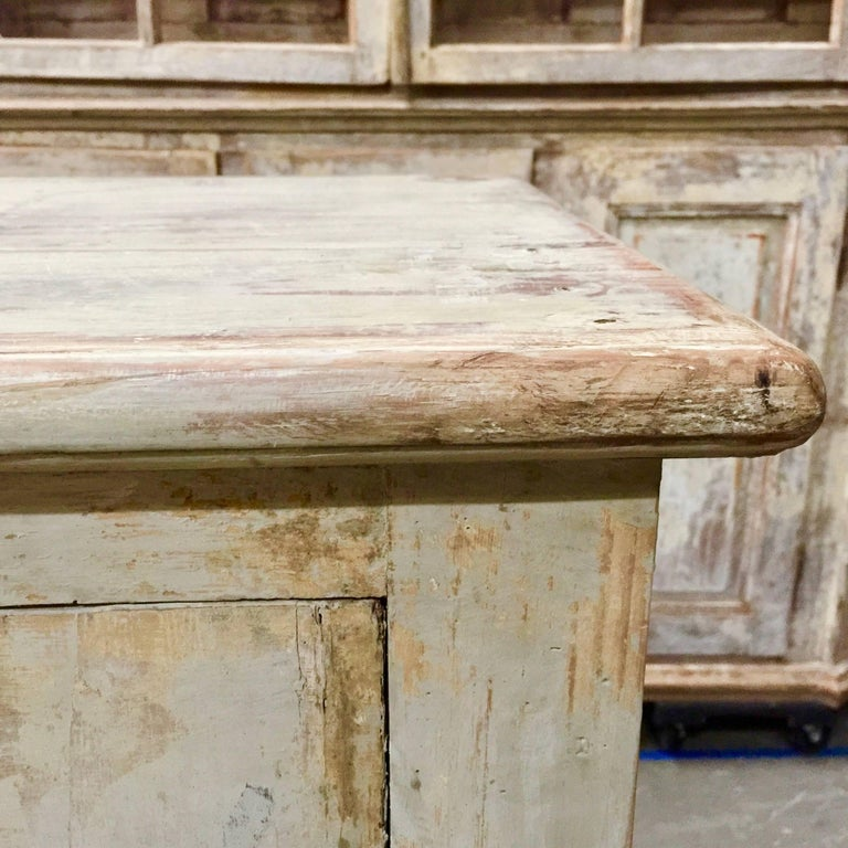 18th century Italian 8 Door Sideboard In Good Condition For Sale In Charleston, SC