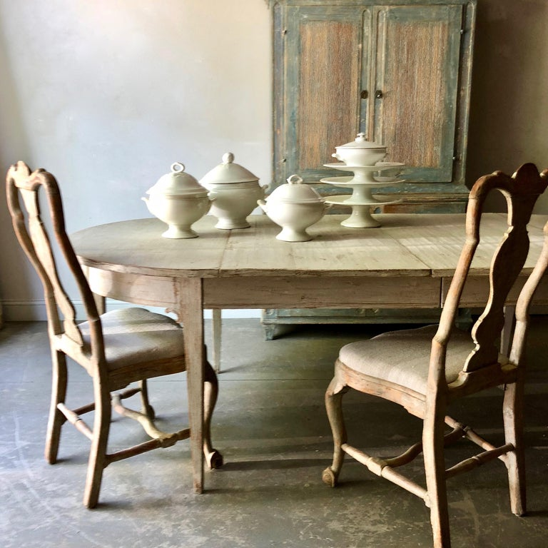 Early 19th Century Swedish Period Gustavian Extending Table For Sale 2