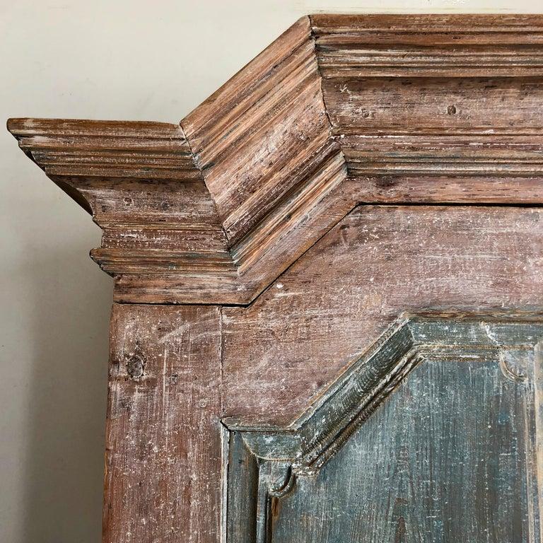 Pine 18th Century Swedish Gustavian Period Cabinet For Sale