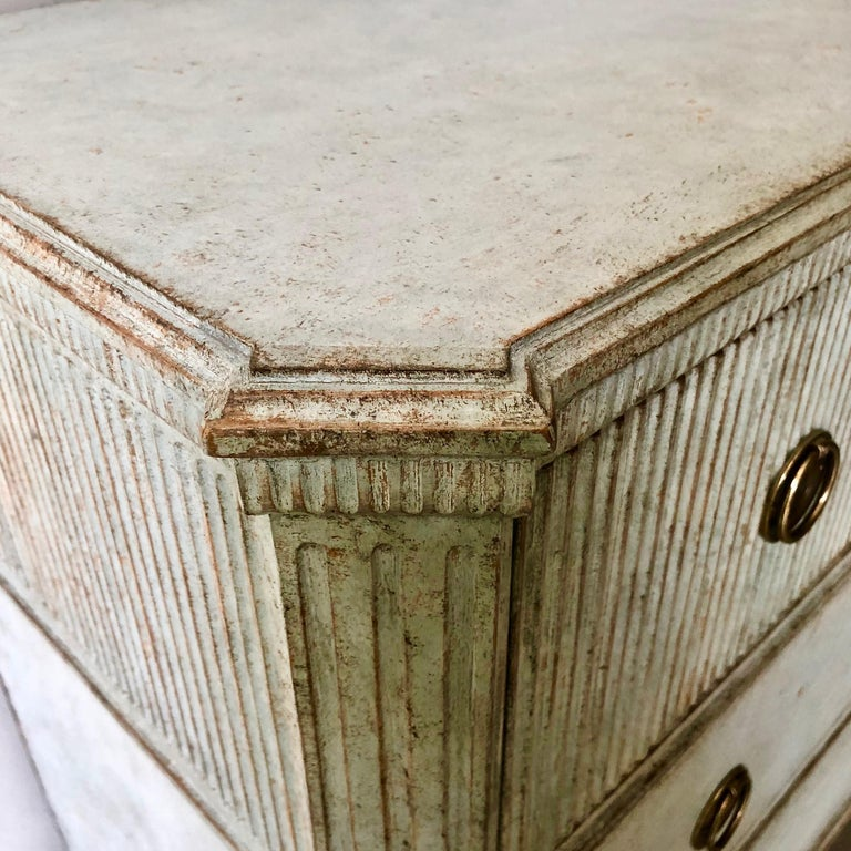 19th Century Period Swedish Gustavian Chest of Drawers For Sale