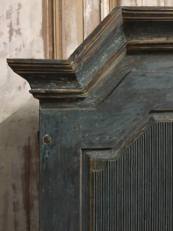 Early 19th Century Period Swedish Gustavian Secretaire Cabinet In Good Condition In Charleston, SC